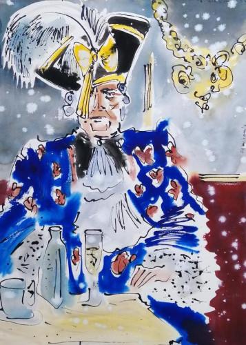 In costume at Carnevale di Venezia XVIIII