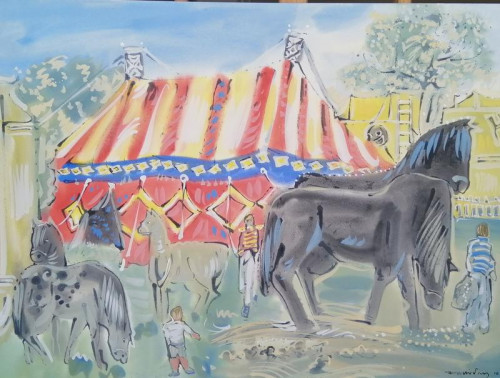 Travelling Circus in France