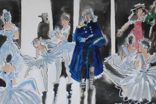 In the Wings II, Ballet