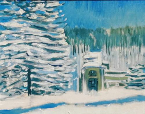 Petrodvorets under Snow