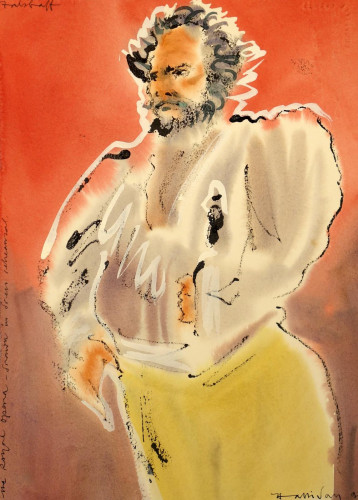 Bryn Terfel as Falstaff, R.O, 1999,  I