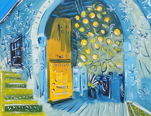 The Open door of the Orangery