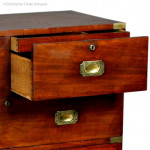Ross of Dublin Antique Military Campaign Chest