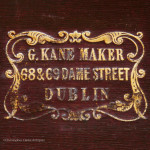 Three Part Antique Campaign Chest by Gregory Kane of Dublin