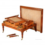 Campaign Chair Bed by Edward Argles