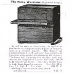 The Percy Wardrobe Antique Campaign Chest