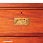Antique Campaign Chest by Peter McCarthy & Son