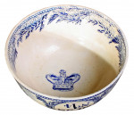 Blue and White Naval Mess Bowl