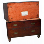 Naval Antique Campaign Chest by Seagrove
