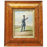 Volunteer Rifleman Watercolour