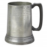 WP Thackwell's 73rd Perthshire Regt. Pewter Tankard