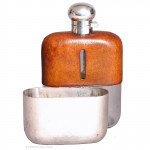 Large Hip Flask By Dixon