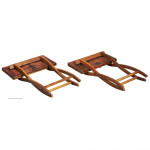 Pair of Low Coaching Tables