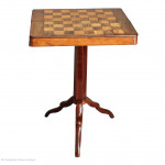 Antique Chess Box Table