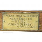 John Disney's Chair