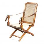 Douro Antique Campaign Chair