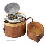 Leather Cased Portable Tea Set