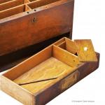 Oak Stationery Box by Briggs