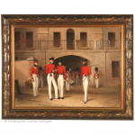 Officers of the 7th Royal Fusiliers - Gibraltar