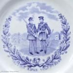 British Rifle Volunteers Ceramic Plate