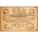 William Day Leather Trunk