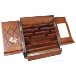 Brass Bound Stationery Cabinet