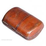 Very small leather cigarette case