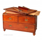 Wardrobe Campaign Chest by Ross & Co.