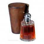 Cased Flask and Beakers