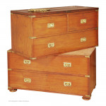 Antique Campaign Chest by Gilham