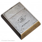Ransome's Patent Travel Inkwell by De la Rue.