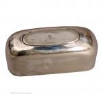 Lizard Skin & Silver Plate Flask
