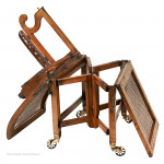 Campaign Sedan Desk Chair