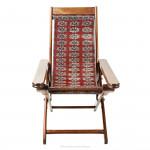 Antique Folding Planter's Chair