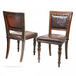 The King's Liverpool Regiment Chairs By Ross & Co.
