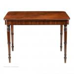 Antique Campaign Centre Table