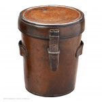 Leather Cased Beaker with Goblet Measure