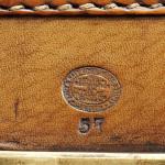 A&N CSL Leather Hat Box