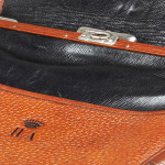 Viscount's Leather Shoulder Bag
