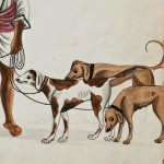 A Doriya or Dog Handler Painting