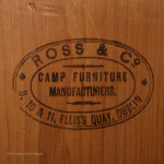 Antique Campaign Chest with Ross Cases