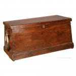 Seaman's Trunk With Good Becket Handle