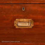Antique Campaign Chest by Alex Boswell