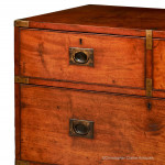 Antique Campaign Chest by Shepherd