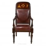Masonic Campaign Chair