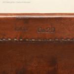 Leather Hide Mule Trunk