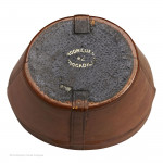 Hat Box Inkwell by Rodrigues