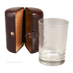 Leather Cased Glass