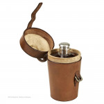 Cased Flask & Beakers by Dixon