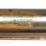 Bingham Patent Travel Candlestick